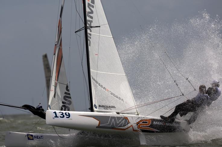 F18 Worlds Knokke 5 Vincent Huntelman & Herwin van der