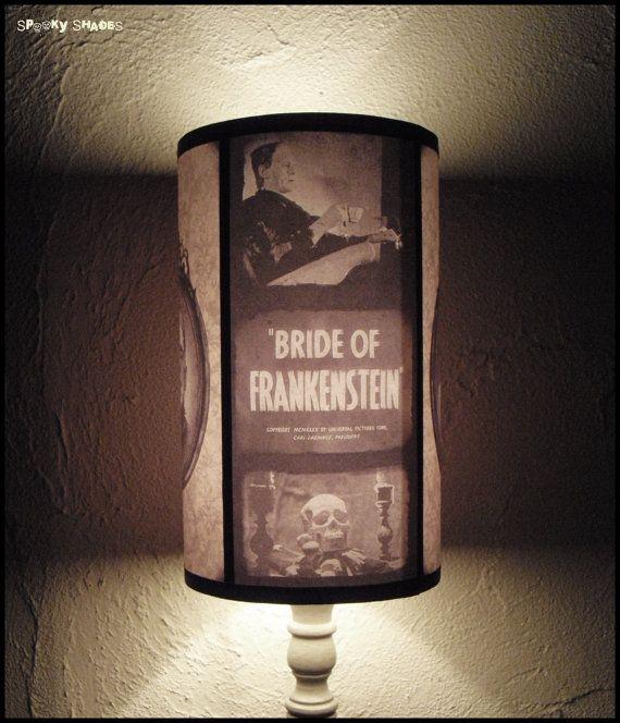 Frankenstein's Bride lamp shade Lampshade