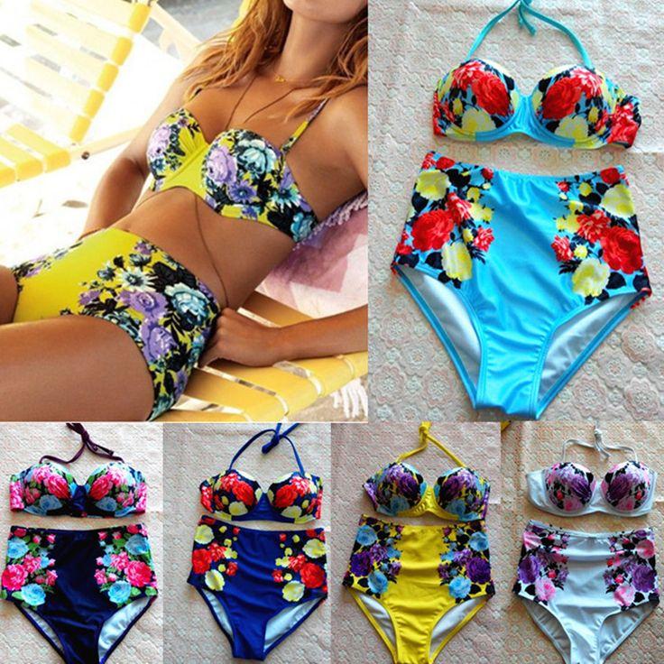 $7.69 (Buy here: https://alitems.com/g/1e8d114494ebda23ff8b16525dc3e8/?i=5&ulp=https%3A%2F%2Fwww.aliexpress.com%2Fitem%2F2016-Women-Newest-Hatlerneck-Swimsuit-Ladies-Printed-Bra-High-Waist-Bikini-Set-Girls-Sexy-Bikini-Swimwear%2F32682226794.html ) 2016 Women Newest Push-up Halter Swimsuit Ladies Printed Bra High Waist Bikini Set Girls Sexy Bikini Swimwear Beachwear Biquini for just $7.69