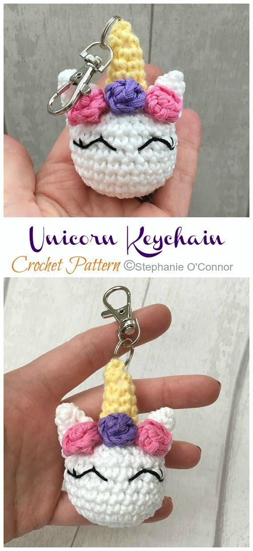 Crochet Keychain Bear Pattern | 1240x570