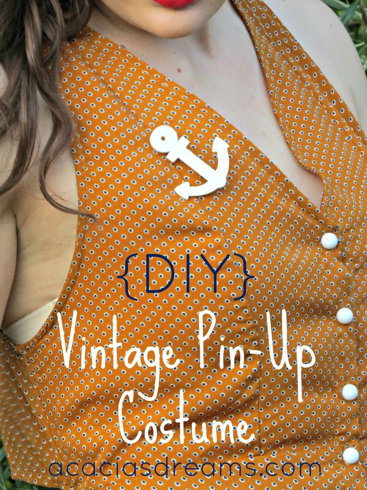 {DIY} Vintage Pin-Up Costume