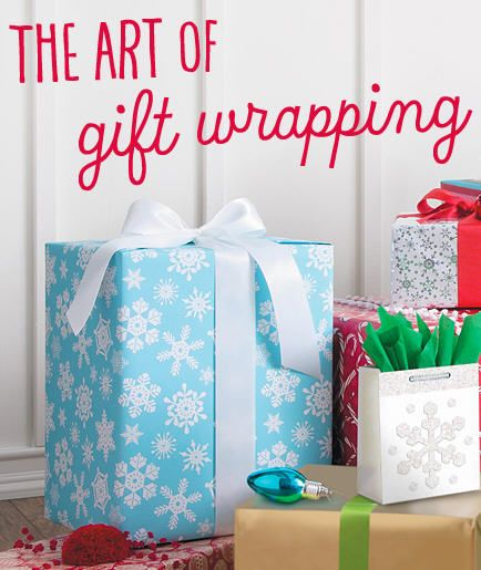 VIDEO TUTORIALS - GIFT-WRAPPING: Want to wrap a gift and have it look not just OK, but flawless? It's easy. From wrapping a simple box to odd-shaped gifts to adding an accent gift wrap sash, watch these video tutorials to learn how to wrap presents and make them perfectly presentable!