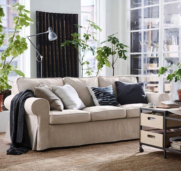19 Aussergewohnliche Ideen Elegantes Wohnzimmer Ektorp 11 In 2020 3er Sofa Klassisches Sofa Wohnzimmer Gemutlich