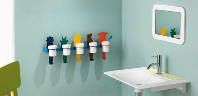 Soportes para Vasos de Cepillos de Dientes - Para Más Información Ingresa en: http://banosmodernos.com/soportes-para-vasos-de-cepillos-de-dientes/
