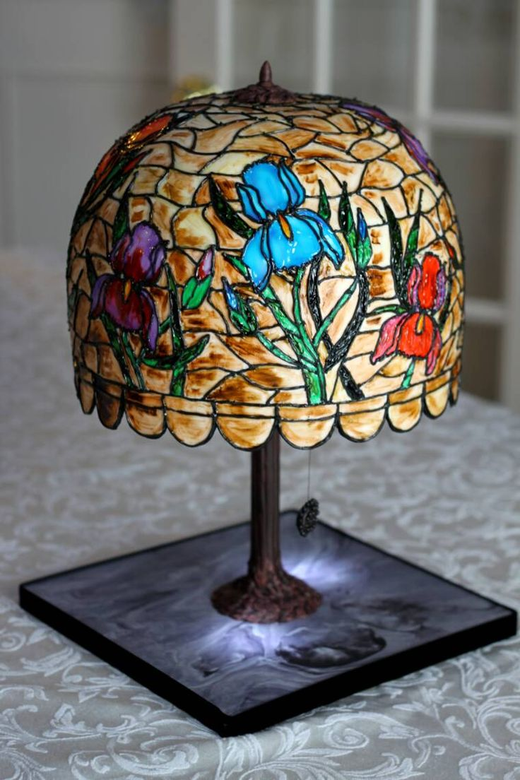 368 best Stained Glass Cakes images on Pinterest
