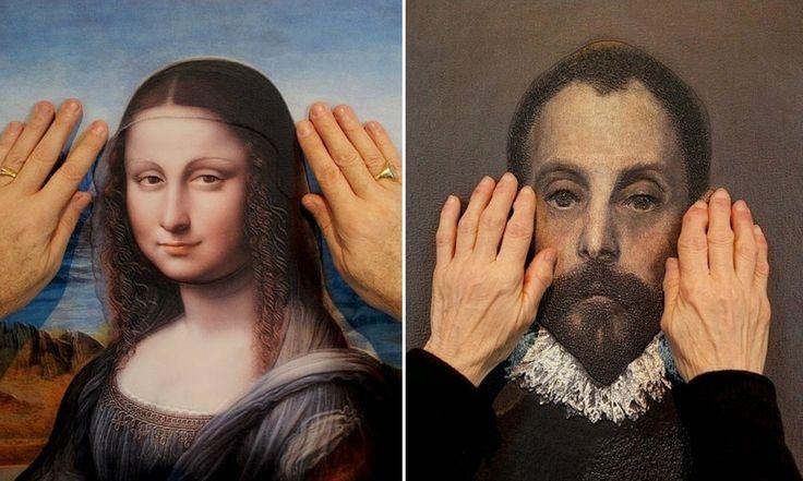 A exposição de arte em 3D que permite que pessoas cegas apreciem quadros famosos