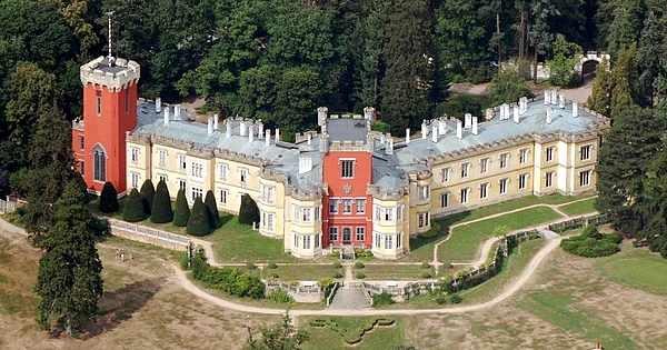Nechanic castle, Czech republic