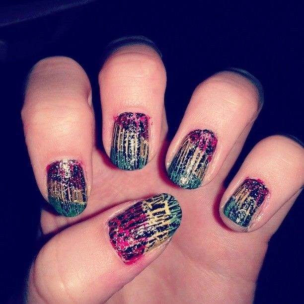 The 100 Best Crackle Nail Polish Images On Pinterest