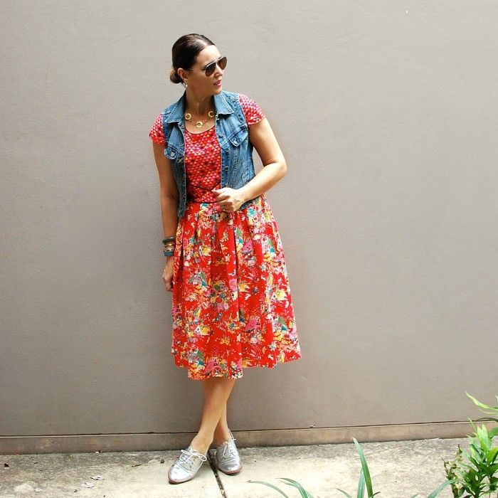 Daily Style: Dressing Down a Girly Frock