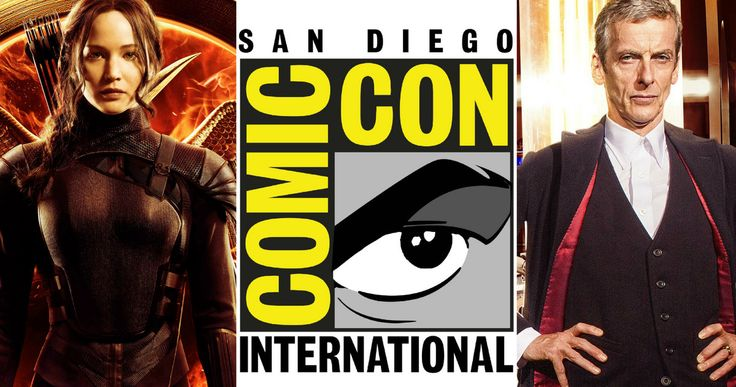 Comic Con 2015 Thursday Schedule -- 'The Hunger Games', Open Road Films, 'Doctor Who', 'The Last Ship' and more invade San Diego on the first day of Comic-Con 2015. -- http://movieweb.com/comic-con-2015-thursday-schedule/