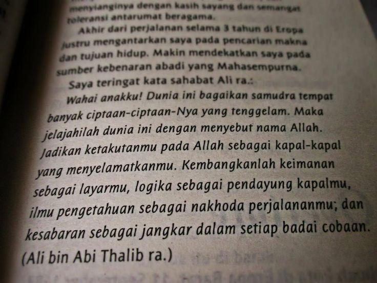 Ali bin Abi Thalib ra : 99 Cahaya di Langit Eropa by Hanum Salsabiela Rais