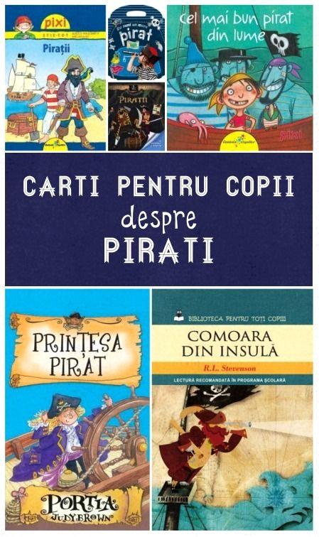 carti pentru copii despre pirati