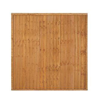 Larchlap Closeboard Fence Panels 1.8 x 1.8m 20 Pack | Closeboard Fence Panels | Screwfix.com