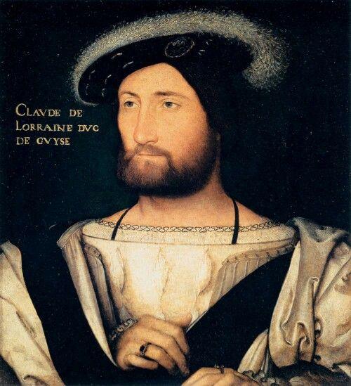 CLOUET, Jean (b. 1485/90, Bruxelles, d. 1541, Paris)-Claude I. of Lorraine 1.Duke of Guise-1528-30 Oil on wood, 26 x 26 cm Galleria Palatina (Palazzo Pitti), Florence-- Claude de Lorraine 1. duc de Guise(1528)+Aumale+Marquis de Elbeuf+Sir de Joinville *Grand veneur de France+Colonel général+Chevalier de l'ordre de Saint-Michel*1496 Château de Condé-sur-Moselle+1550 Château de Joinville) He was 2.son of René II, Duke of Lorraine, and Philippa of Guelders. He was educated with brother Duc…