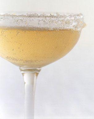 Sparkling Ginger Cocktails.