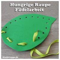 Die Raupe Nimmersatt - Ideen und Spiele für Kindergarten und Kita | Kindersuppe ABO