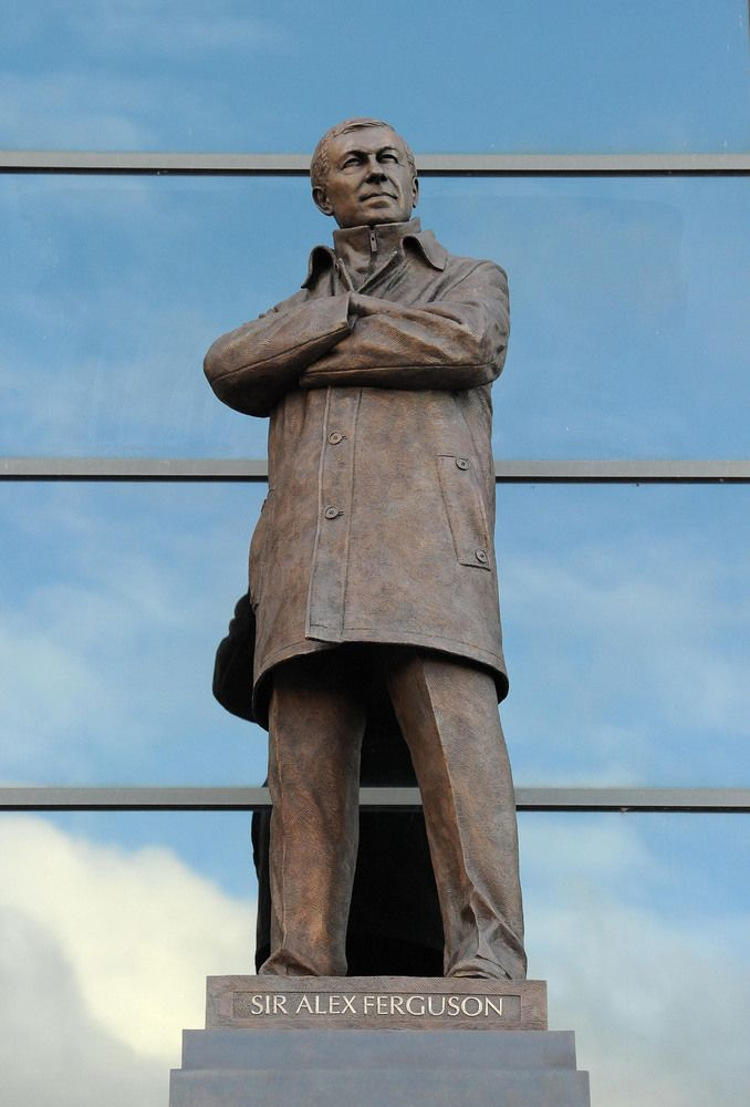 Sir Alex Ferguson Statue Unveiled At Old Trafford (PICTURES)