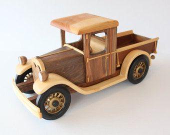 Modelo de madera de 1928 Chevy Pick-up camión