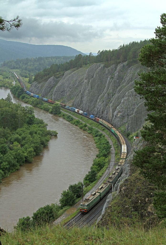 By train from the Urals to the North Caucasus (Russia) 54