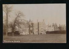 Oxfordshire Oxon Bicester ROUSHAM House c1900/20s? RP PPC