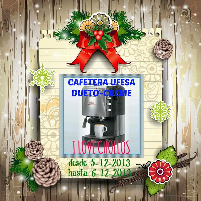 I Love Chollos...Cafetera Expresso UFESA