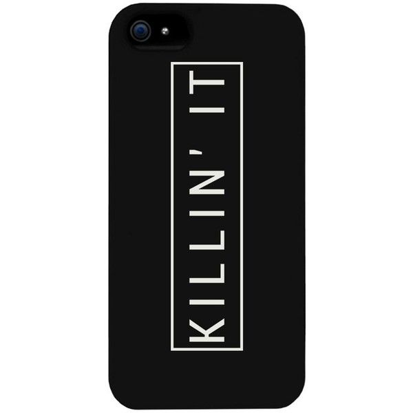 Killin' It Killing It Phone Case for iphone 4, iphone 5, iphone 5C,... ($15) ❤ liked on Polyvore