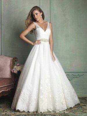 Allure wedding dress 9125