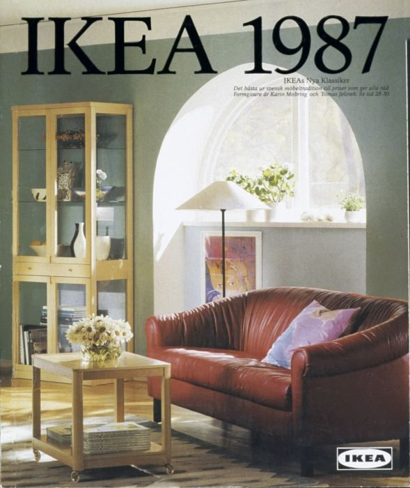 Old Ikea Catalogue Cover 1987