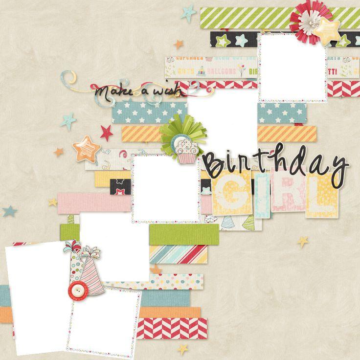 FREE Dreamn4ever Designs: Girl Birthday Wishes by Sheila Reid
