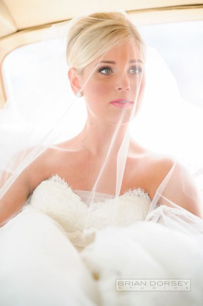 This bride is channeling Grace Kelly on her big day: http://www.stylemepretty.com/2015/02/05/traditionally-elegant-central-park-boathouse-wedding/ | Photography: Brian Dorsey - http://briandorseystudios.com/