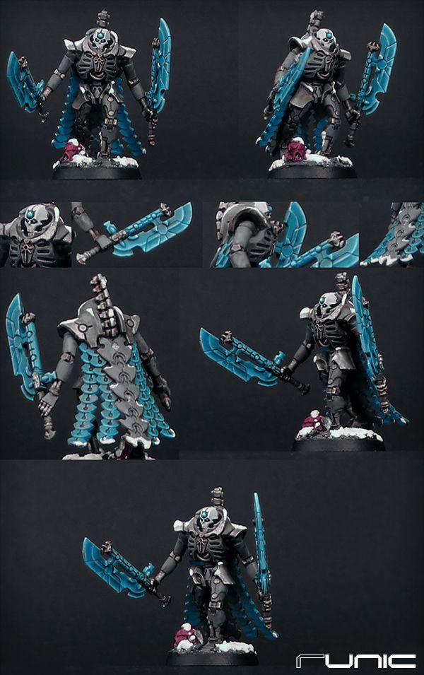 Necron Lord color scheme