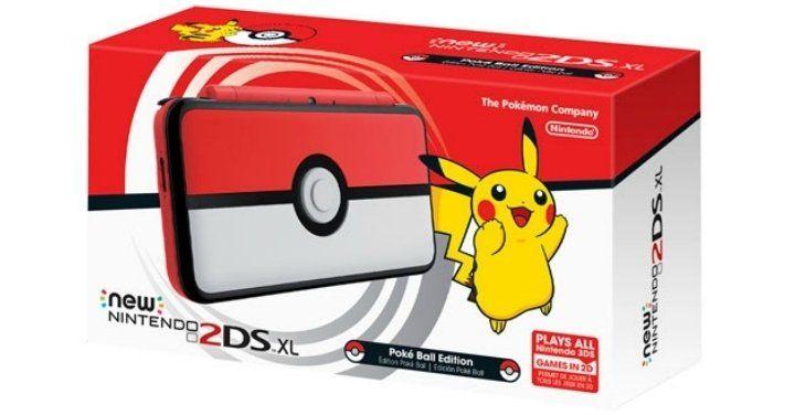 [$209.99] New Nintendo 2DS XL Poké Ball Edition $209.99 @ BestBuy.ca https://www.lavahotdeals.com/ca/cheap/nintendo-2ds-xl-poke-ball-edition-209-99/247434?utm_source=pinterest&utm_medium=rss&utm_campaign=at_lavahotdeals&utm_term=hottest_12