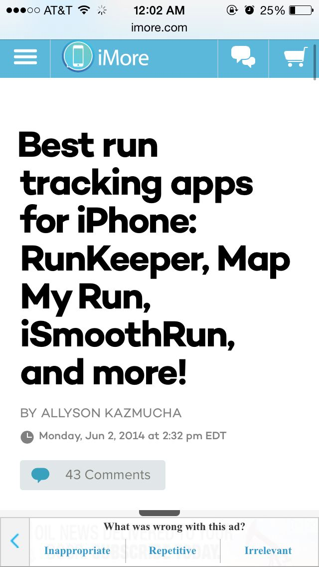 best gps running app for iphone 2012