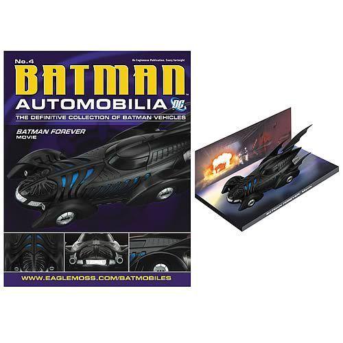FabGearUSA - Batman Forever 1995 Batmobile Die-Cast Vehicle with Magazine, $29.95 (http://www.fabgearusa.com/batman-forever-1995-batmobile-die-cast-vehicle-with-magazine/)
