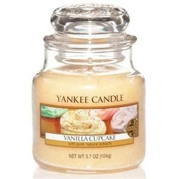 Bougie yankee candle Vanilla cupcake - petite jarre: Amazon.fr: Jardin