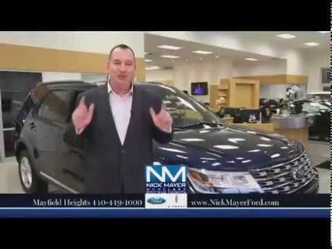 Buy or Lease a New Ford Explorer for Beachwood OH at Nick Mayer Ford