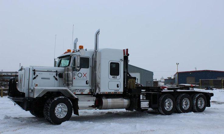 Semi Truck Oil : Kenworth triaxle oil field hoss heavy haul on off