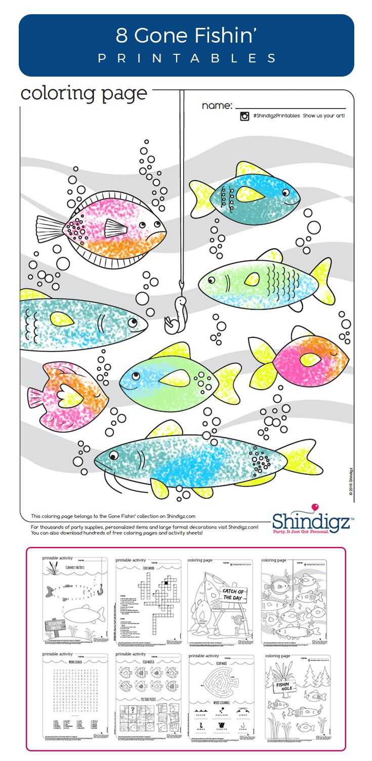 Coloring pages for doctors day - Free Gone Fishin Printables Coloring Pages