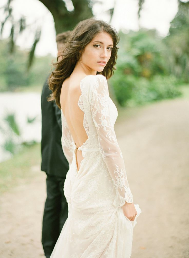 Dress by Elie Saab, image by KT Merry. #wedding