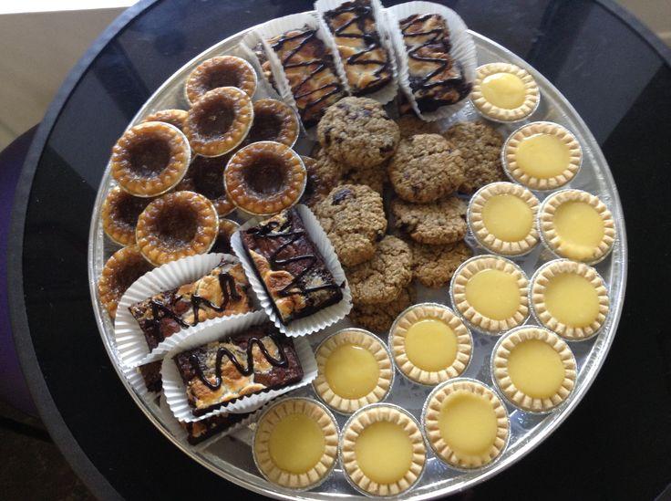 "Dessert Platter: ""Summerlious""  - Mini Butter Tarts - Mini Lemon Tarts - Brownies - Cookies"