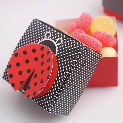 Souvenir Ulang Tahun Candy Box Kotak Permen Hamper Pesta Anak YBL (Ready Stock)