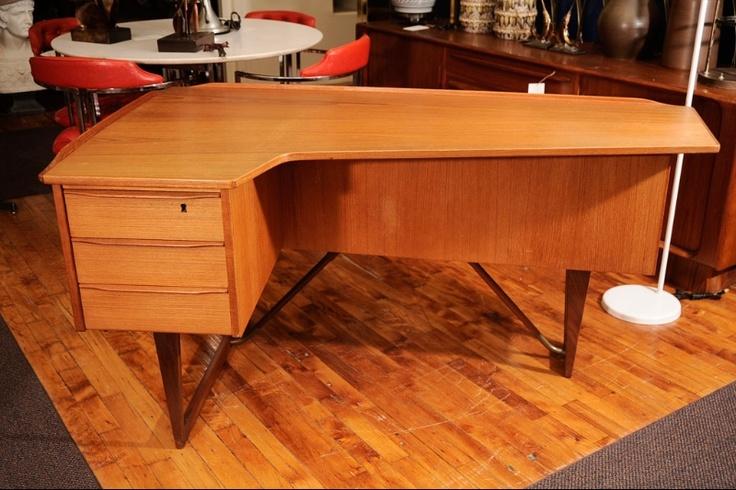 Asymmetrical Danish Desk