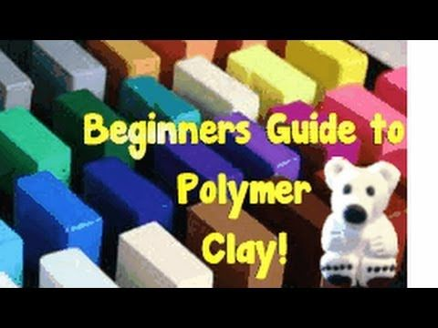 WISH I WATCHED THIS VID BEFORE WORKING WITH POLYMER CLAY!Here is my video to help you get started with Polymer Clay. It is quite an easy hobby to have just d...