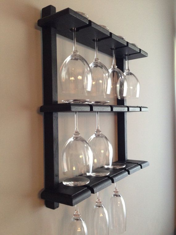 How To Build A Wine Glass Rack In A Cabinet Woodworking