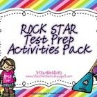 Make your students ROCK STAR test takers by implementing these fun test prep activities within your classroom.  Enjoy this FREE Rock Star themed te...
