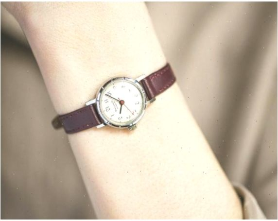 Leather Diy Watch Strap Tutorial In 2020 Women Watches Gift