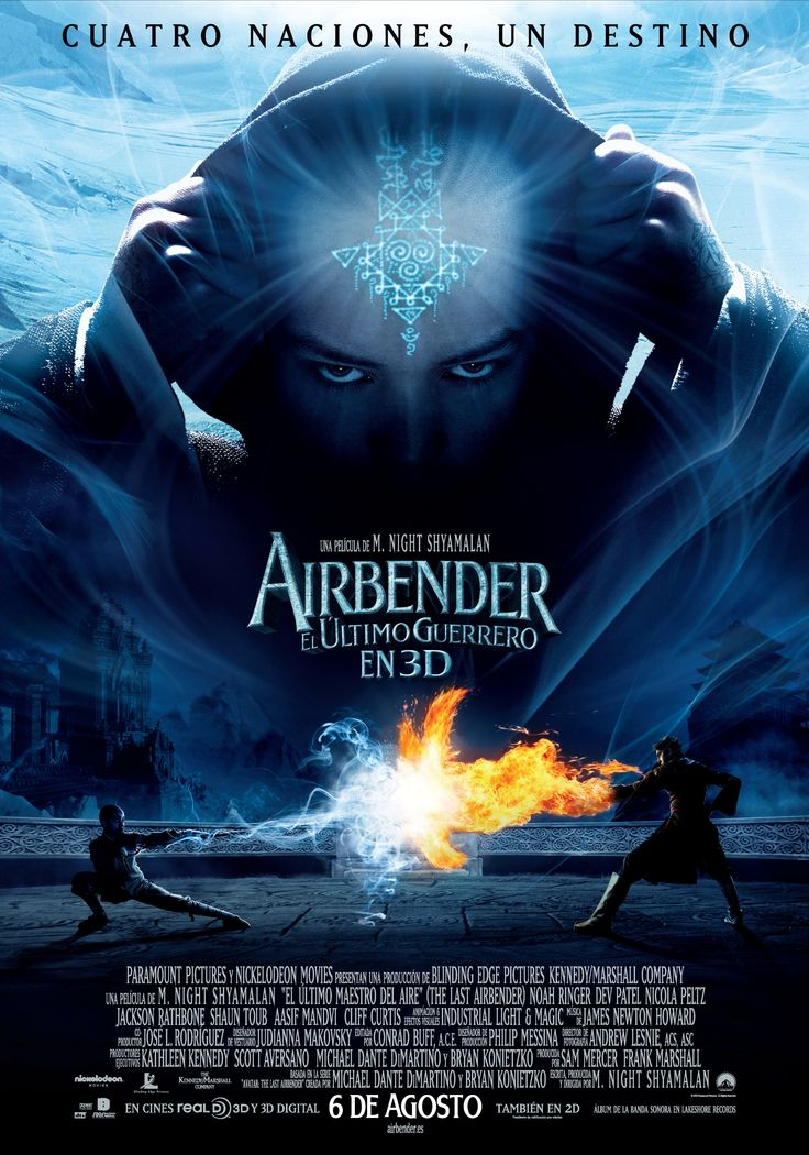 Airbender, el último guerrero - The last Airbender