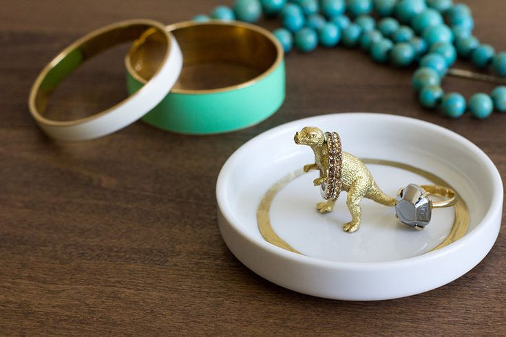 DIY Critter Ring Dishes Project | Jewelry Holders