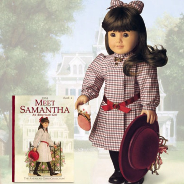 To be honest, I still have her.: Samantha American Girls, American Girls Dolls Samantha, Samantha Dolls, Childhood Memories, My Daughters, American Dolls, Books Series, American Girl Dolls, 90S