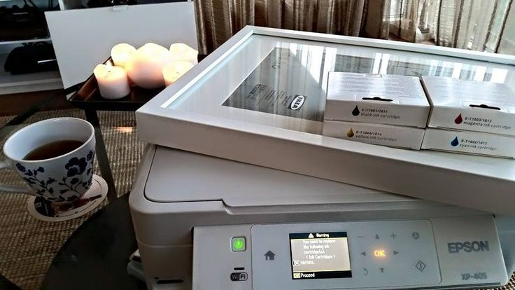 New picture frames (ikea €9.50): check ✓ High gloss paper (Tesco €4): check ✓ Inspiration (holiday family pictures): check ✓ Tea (free): check ✓ Printer: needs new ink ✗ madinks.ie cartridges for my Epson 405: check ✓ Up to 54% saved and now back to printing my favorite snaps!!